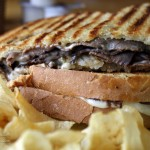 Corner Cup Cafe: Walkerton, Indiana Beef and Mushroom Panini