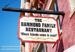 Hammond Family Restaurant in Madison, Indiana