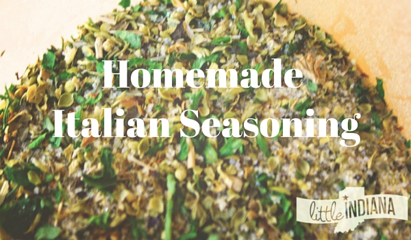 Homemade Italian Seasoning Recipe