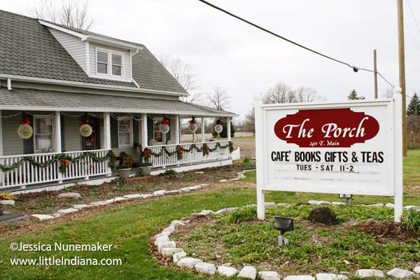 The Porch Cafe Books Gifts in Danville, Indiana Exterior
