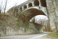Twin Bridges in Danville, Indiana