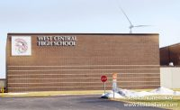 West Central School Corporation Wind Turbine in Francesville, Indiana