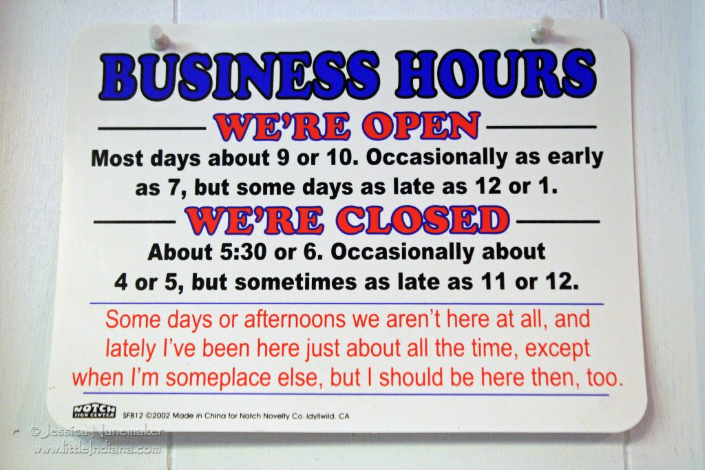 Yum Yum Shoppe North Liberty, Indiana Hours