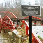Boner Bridge in Hatfield, Indiana