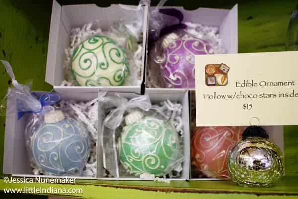 Confection Delights in Danville, Indiana Edible Ornaments