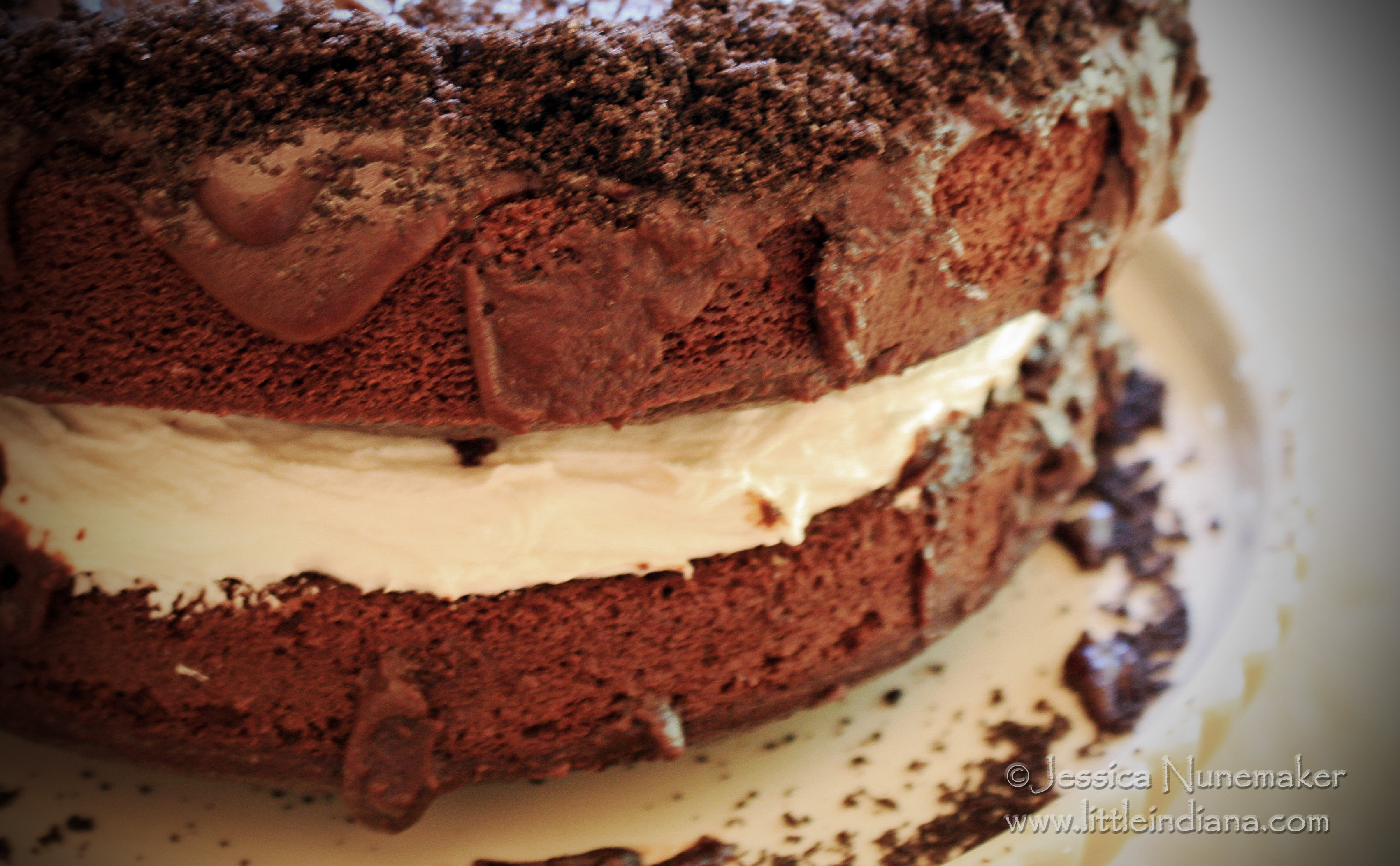 Best Cake Recipes: Chocolate Cake with Marshmallow Filling