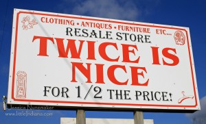 Twice is Nice Resale Store in Medaryville, Indiana