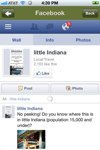little Indiana iPhone and iPad App