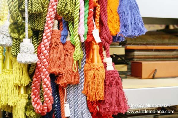 Raders Fabrics in Danville, Indiana Drapery Tiebacks