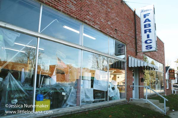 Raders Fabrics in Danville, Indiana Exterior