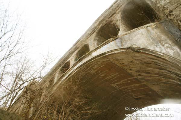 Twin Bridges in Danville, Indiana