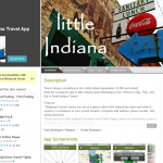 little Indiana Android Travel App Screenshot