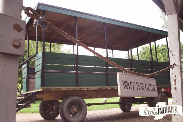 Amish Acres Attractions Include a Farm Wagon Ride