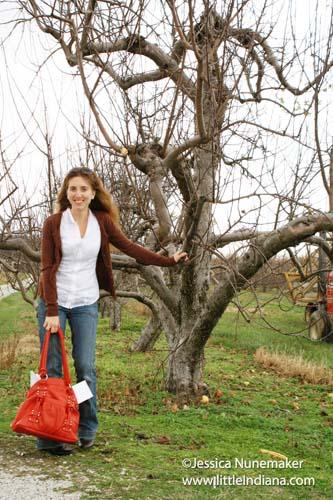Beasley's Orchard in Danville, Indiana Jessica Nunemaker