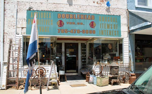 Doublehead Trading Company in Cambridge City, Indiana Exterior