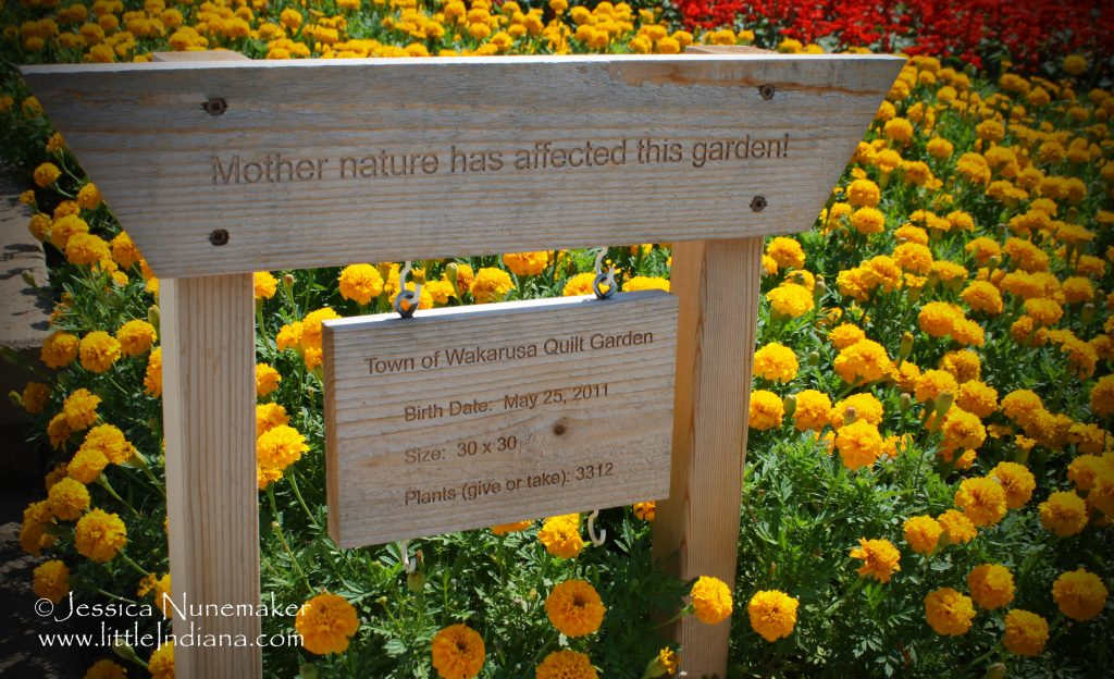 Wakarusa Indiana Quilt Gardens Along The Heritage Trail