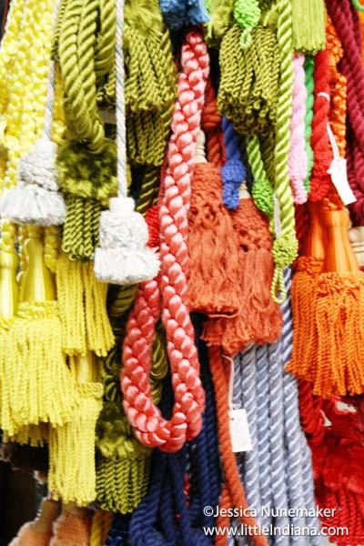 Raders Fabrics in Danville, Indiana Drapery Tiebackss