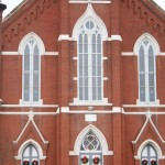 Salem United Church of Christ in Huntingburg, Indiana: Scene for Hard Rain