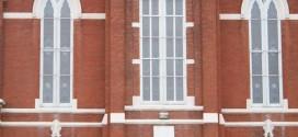Salem United Church of Christ in Huntingburg, Indiana: Scene for Hard Rain