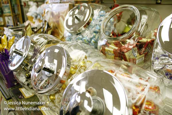 Carla's Creations and Gifts in Danville, Indiana Bulk Candy Jars