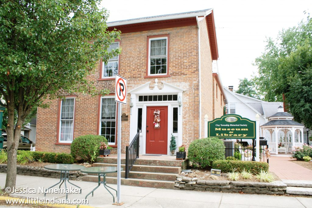 Clay Township Historical Museum in Greens Fork, Indiana