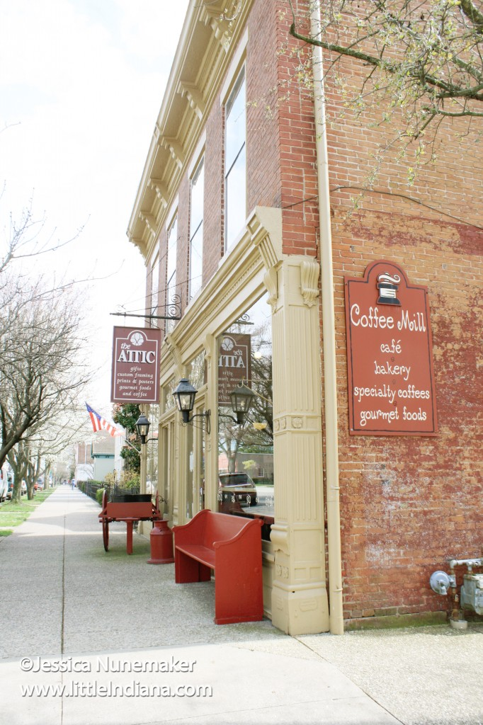 The Attic & Coffee Mill Cafe in Madison, Indiana