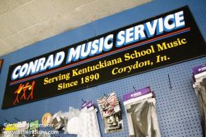 Conrad Music Service in Corydon, Indiana