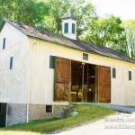 Huddleston Farmhouse in Cambridge City, Indiana Barn