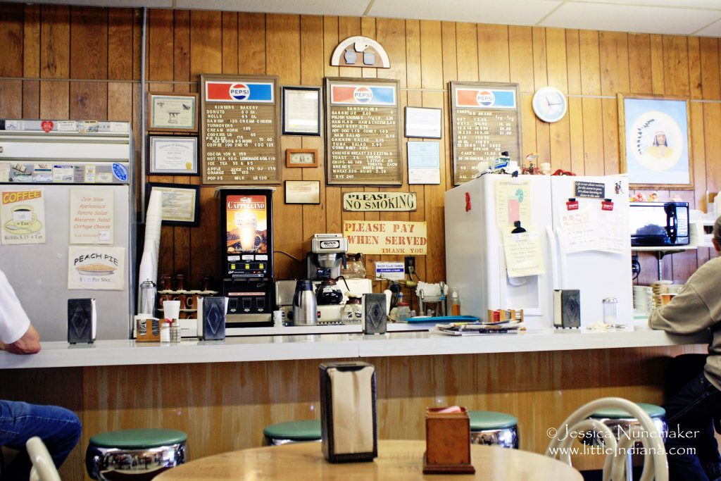Kinser's Bakery in Monticello, Indiana