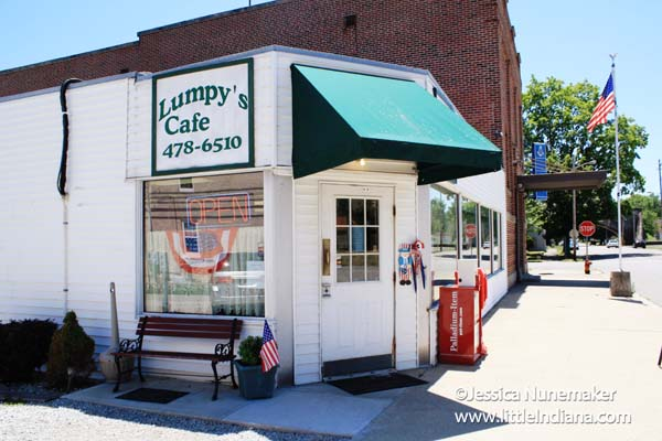 Lumpy's Cafe in Cambridge City, Indiana