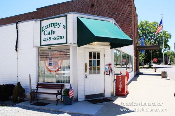 Lumpy's Cafe in Cambridge City, Indiana