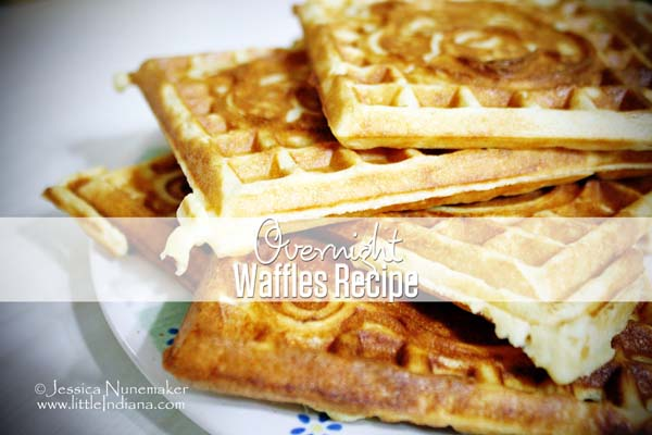 Overnight Waffles Recipe: Crispy and Buttery