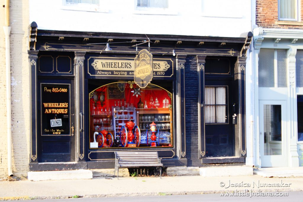 Wheelers Antiques in Centerville, Indiana