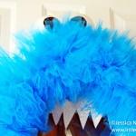 How To Make Halloween Monster Wreath