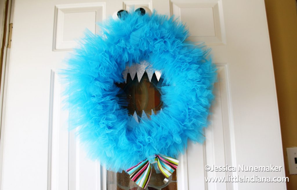 How To Make a Monster Wreath