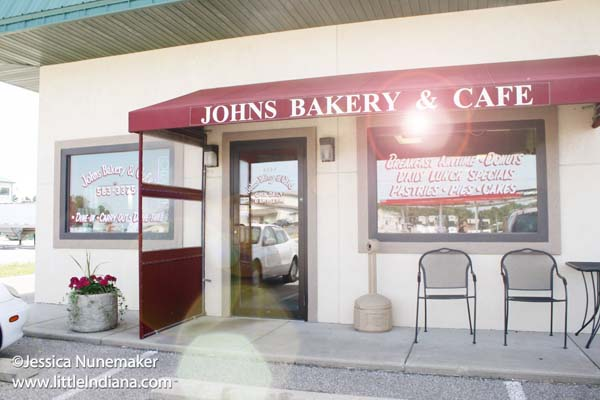 Johns Bakery and Cafe in Monticello, Indiana Exterior