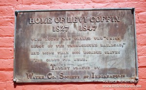 Levi Coffin House in Fountain City, Indiana