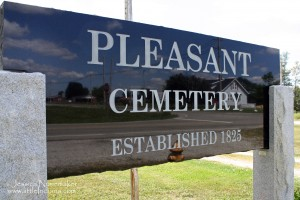 Pleasant Cemetery in Pleasant, Indiana