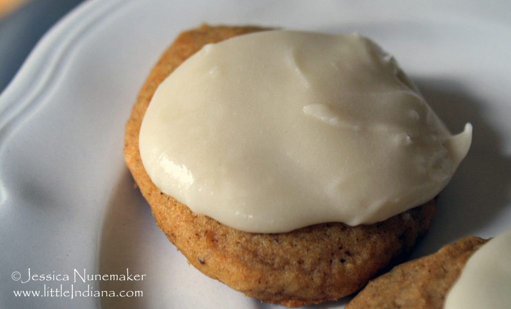 Best Cookie Recipes: Pumpkin Cookies with Penuche Frosting