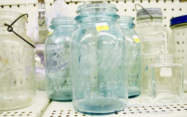 Thriftalicious Resale Shop in Wabash, Indiana Ball Jars