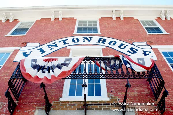 Vinton House Antiques in Cambridge City, Indiana
