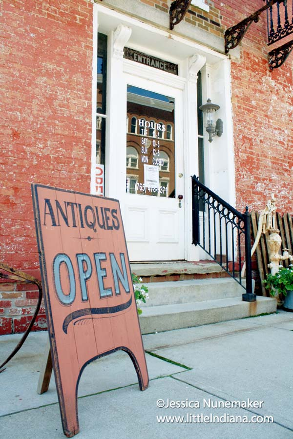Vinton House Antiques in Cambridge City, Indiana Exterior
