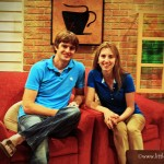 little Indiana and Hubby on the PBS The Weekly Special Set