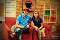 little Indiana and Husband on the PBS The Weekly Special Set