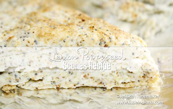 Best Scones Recipes: Lemon Poppy Seed Scones