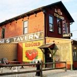 Bonge's Tavern in Perkinsville, Indiana Exterior