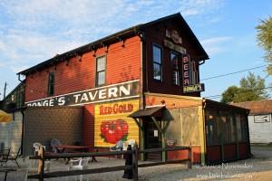 Bonge's Tavern: Perkinsville, Indiana
