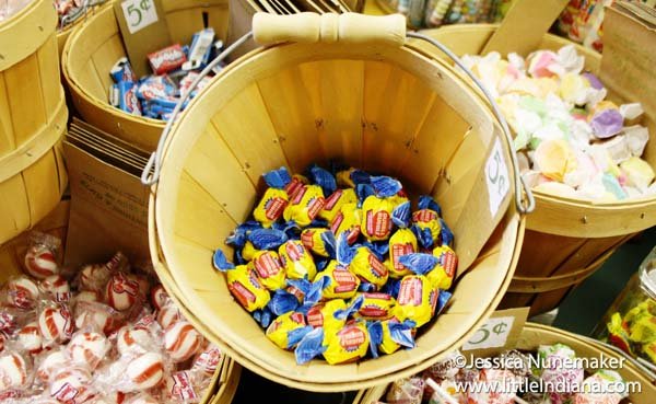 Carla's Creations and Gifts in Danville, Indiana Bulk Candy Bins