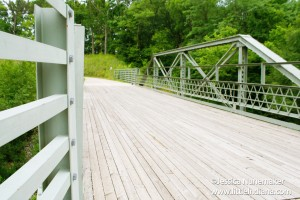 Circle Trail Bridge in Covington, Indiana