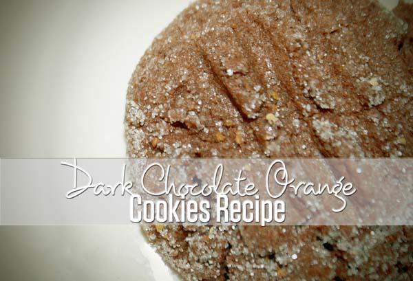 Best Cookie Recipes: Dark Chocolate Orange Cookies